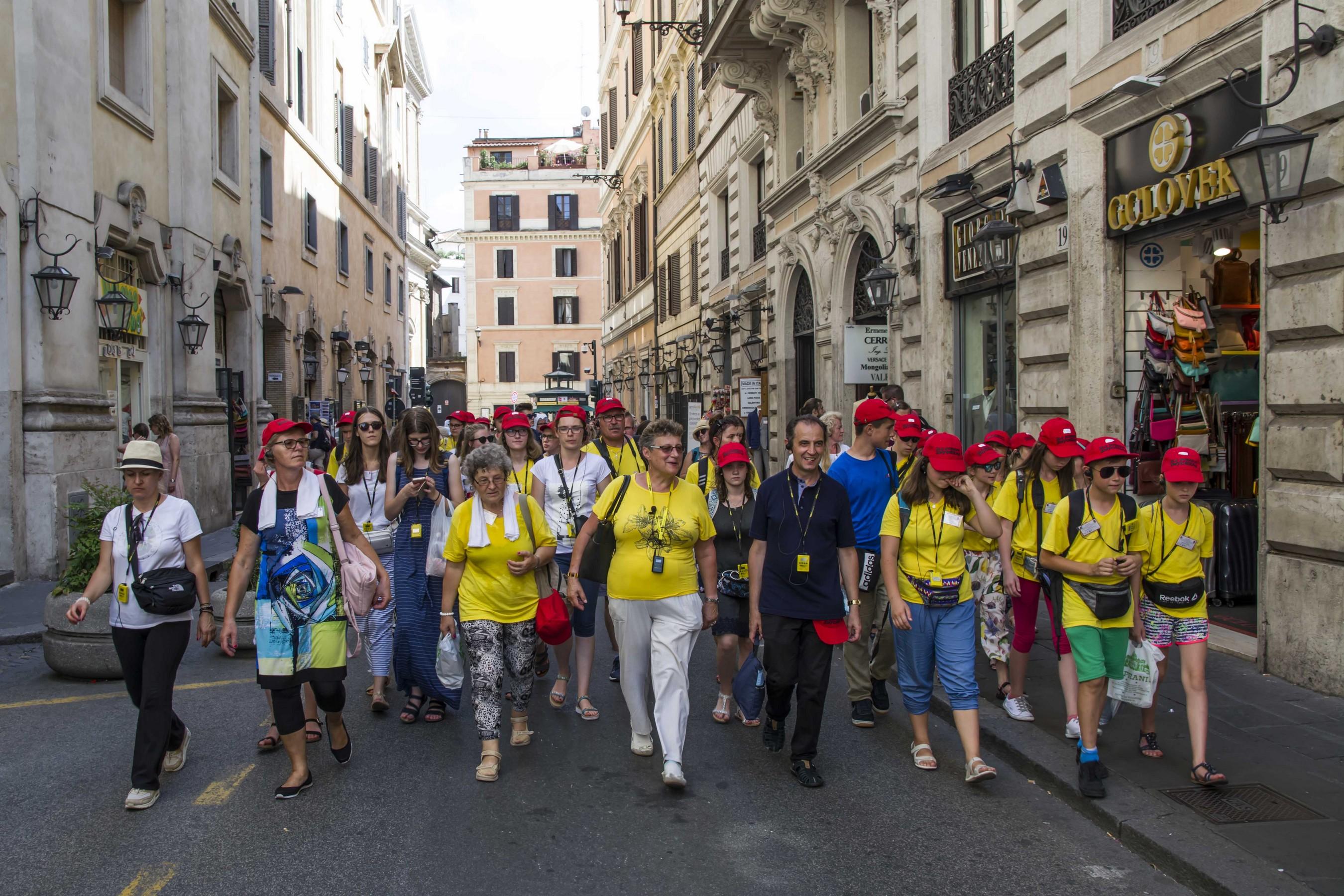 Pielgrzymka Włochy 2018